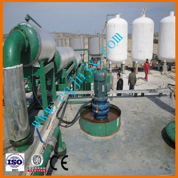 Hot selling used oil recycling plant
