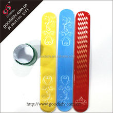 Pvc slap band / kids slap band /fashionable Slap band slap bracelet