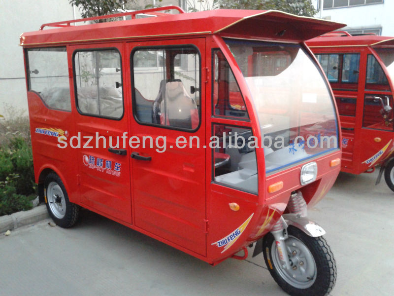 top speed 35km/h three wheel passenger E-tricycle on sale