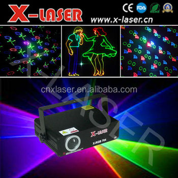 latest pretty competitive price 300mW RGB full color Animation laser light with SD+Animation fireworks+Beam for hottest sale