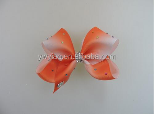 Large joj siwu hair bow with diamonds hair bows with clips