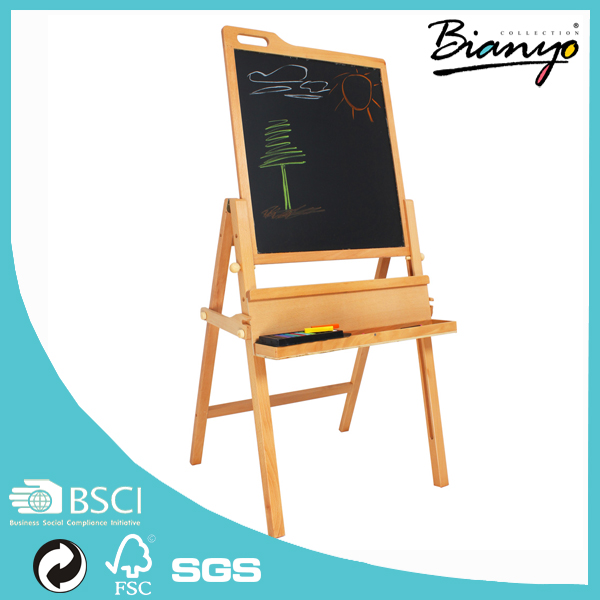Double Side Magnet Drawing Board Wooden Mini Easel Wholesale For Kid Eduction Painting