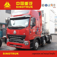 sinotruk 6*4 T5G CNG euro 5 6 wheels tractor 370 HP high quality truck