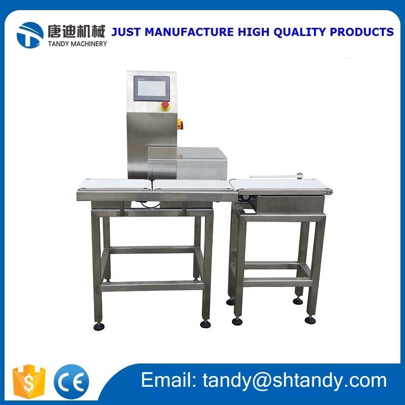 Dynamic checking weigher / Automatic weight checker/ Belt conveyor weighing scale