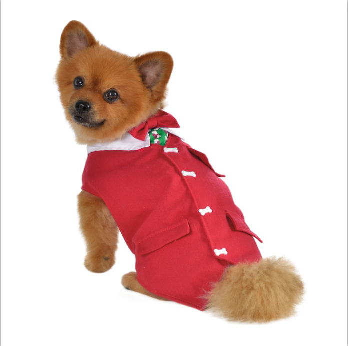 Different Models of christmas pets clothes