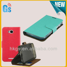 Fashion Leather Flip Protective Case For Lenovo A706
