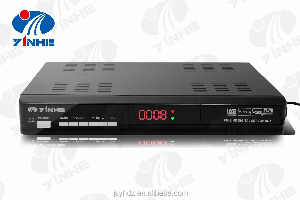 Digital TV HD FTA tv Receiver ATSC for South America and Parts of Southeast Asia