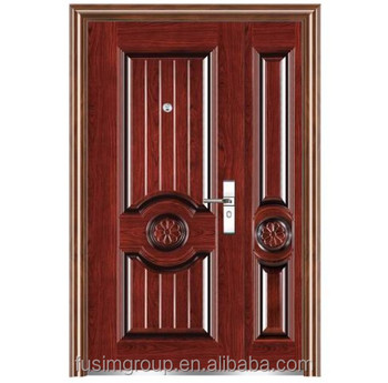 High quality steel security armored door for cheap flat exterior door