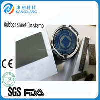 2015 fashion laser machine natural rubber sheet for stamp