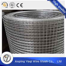 ISO Manufactory export durable galvanized or pvc welded wire mesh roll