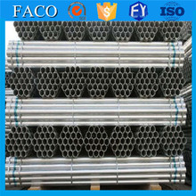 steel structure building materials ! frame scffold pre-galvanized round erw steel tube pre gal pipe