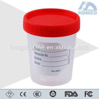 Sterile Urine Solid Sample Specimen Bottle Container 120ml