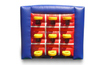 popular Inflatable Basketball Tic Tac Toe/Inflatable Ball Tossing Game