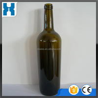 MOST POPULAR CREATIVE DURABLE GOOD SHAPED GLASS WINE BOTTLES
