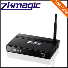 Cheapest android tv box Android6.0 EM92 VP9/H.265 Octa Core 4K*2K HD WiFi2.4G 5.8G download free mini games for pc