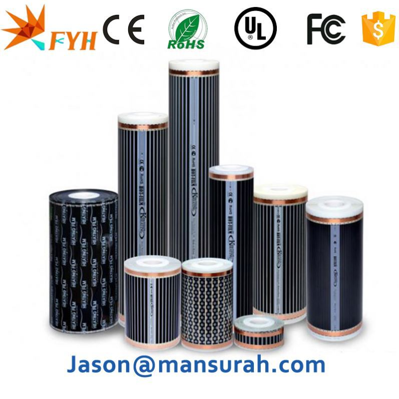 China Manufacture Nano Electric Radiant Floor Heating Film