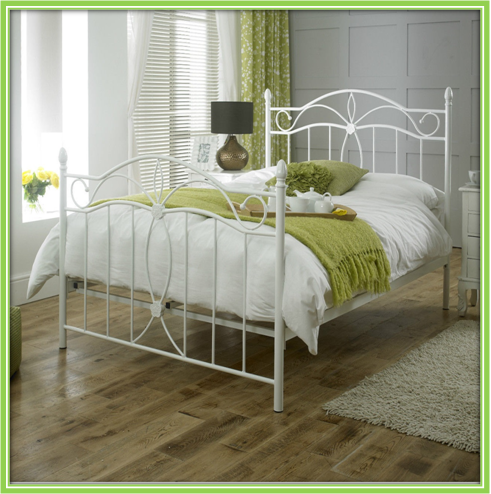 Factory Direct Cheap Metal Bed Frame