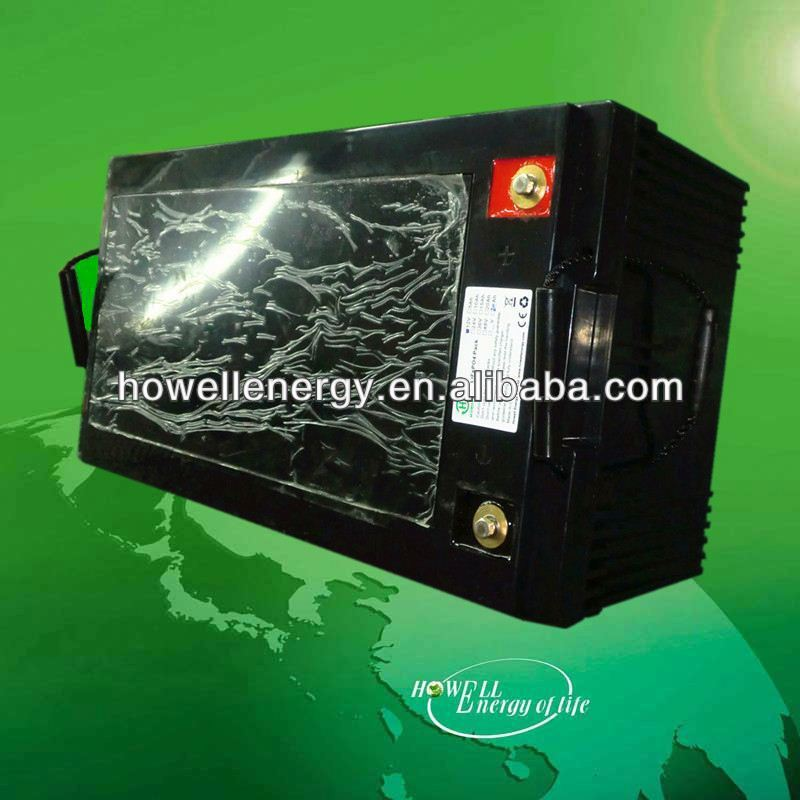 wide energy storage battery/solar system battery 200ah 12v