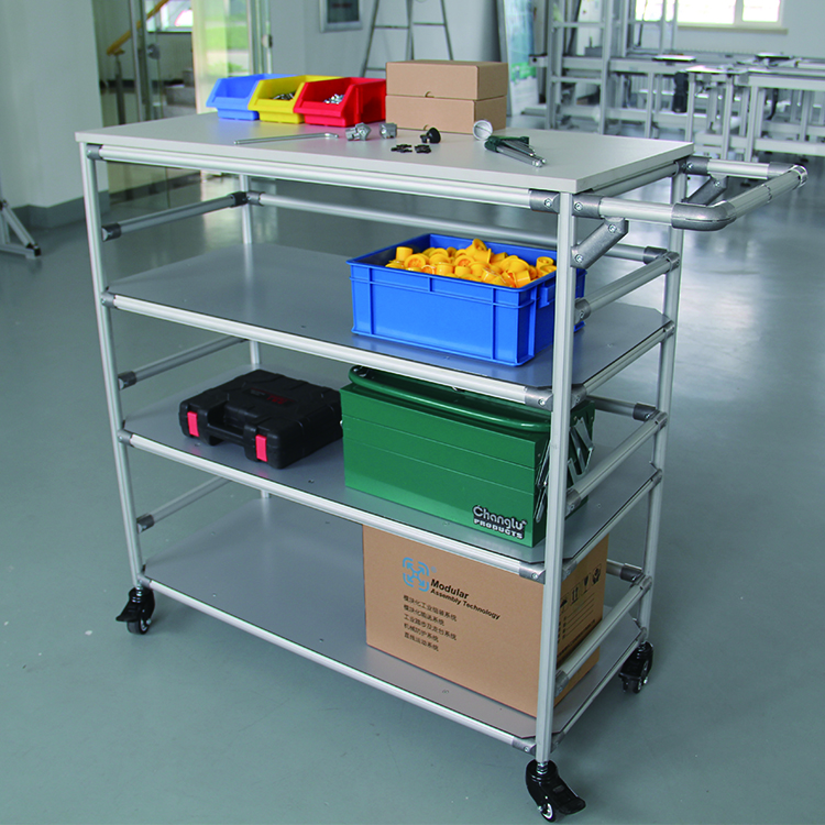 Discount! storage shelving units bin shelves logistic trolley