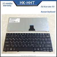 RU Russian laptop keyboard for Acer One 721 751 1810T 1830T AO722 A0751 keyboard