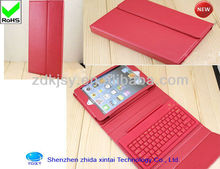 Classic Design For iPad mini Folio Leather Case Bluetooth Keyboard Flip Leather Case