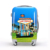 Butterfly Tower City 2018 New Printing Luggage Travel bags With Four Rolling Wheels