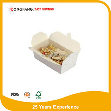 environmental paper food container