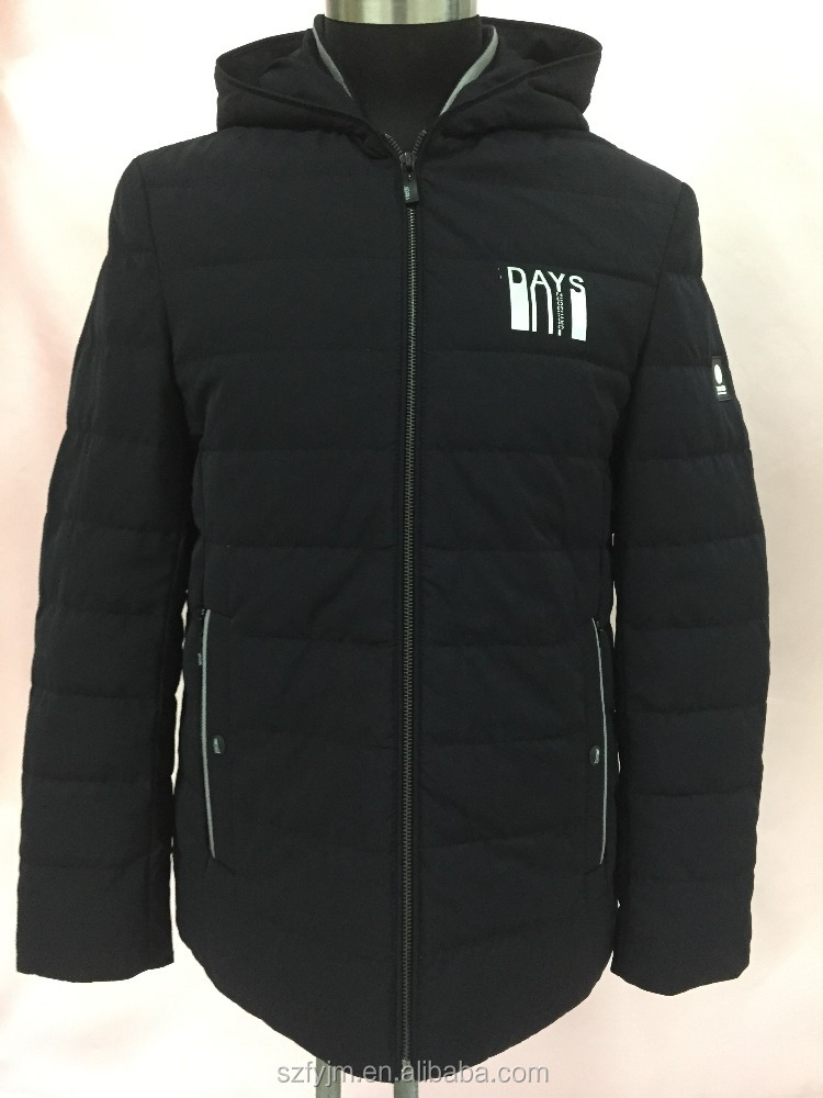 Men 100%nylon down jacket
