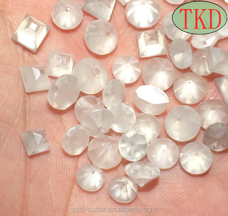 Lab grown white synthetic diamond