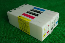 Empty Compatible ink cartridge for epson 7700 9700