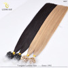 cuticle in-tact Hot fusion prebonded 100% remy micro links hair extensions