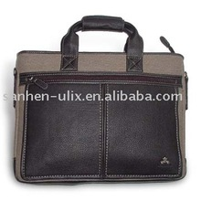 PVC Briefcase with Handle, Made of Oxford Cloth and PU Materials