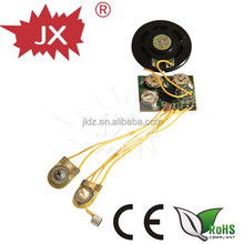 Customized voice recordable push button sound module for greeting card,toys,dolls