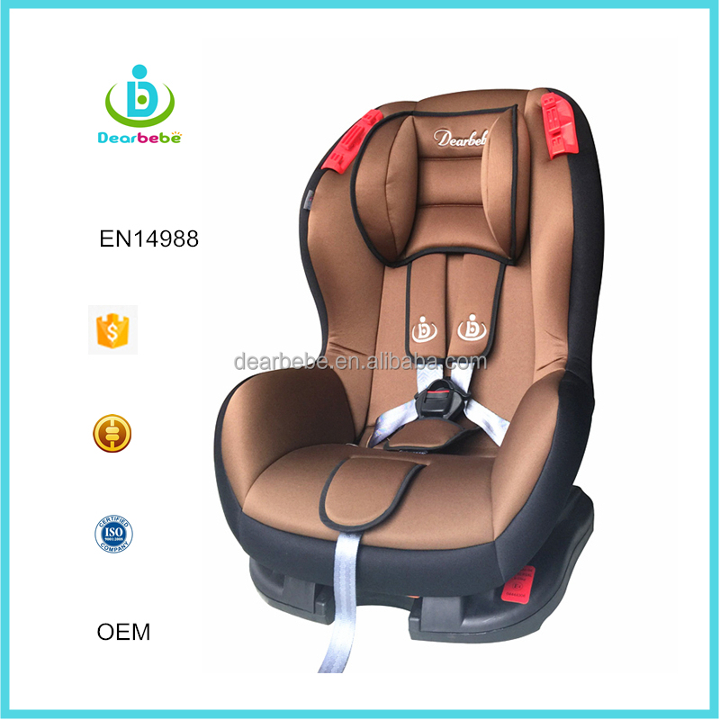 Ningbo Dearbebe Group 1+2 Kids Chair Car 9-25kg Forward Facing Baby Car Seat ECE