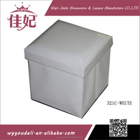 plastic compartment felt ice storage bin box with lid