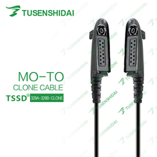 Popular New On Sale Clone Cable 328A-328B Programming Cable for GP328 Moto Walkie Talkie