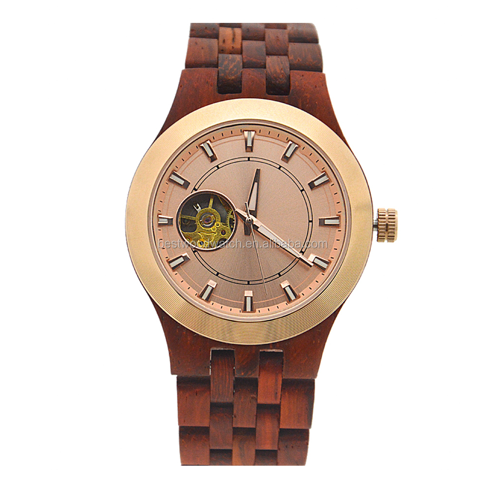 Automatic Watches Men Luxury Best Selling Bamboo Wood Watches Men