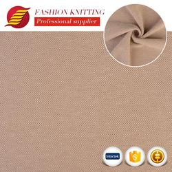 Custom made fashion polyester cotton cloth made poly terry cloth garment loose knit fabric