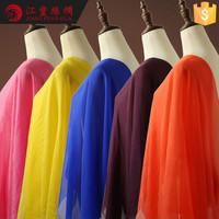 N3 Evening Dress Design Material Chiffon Type Pure Silk Fabric