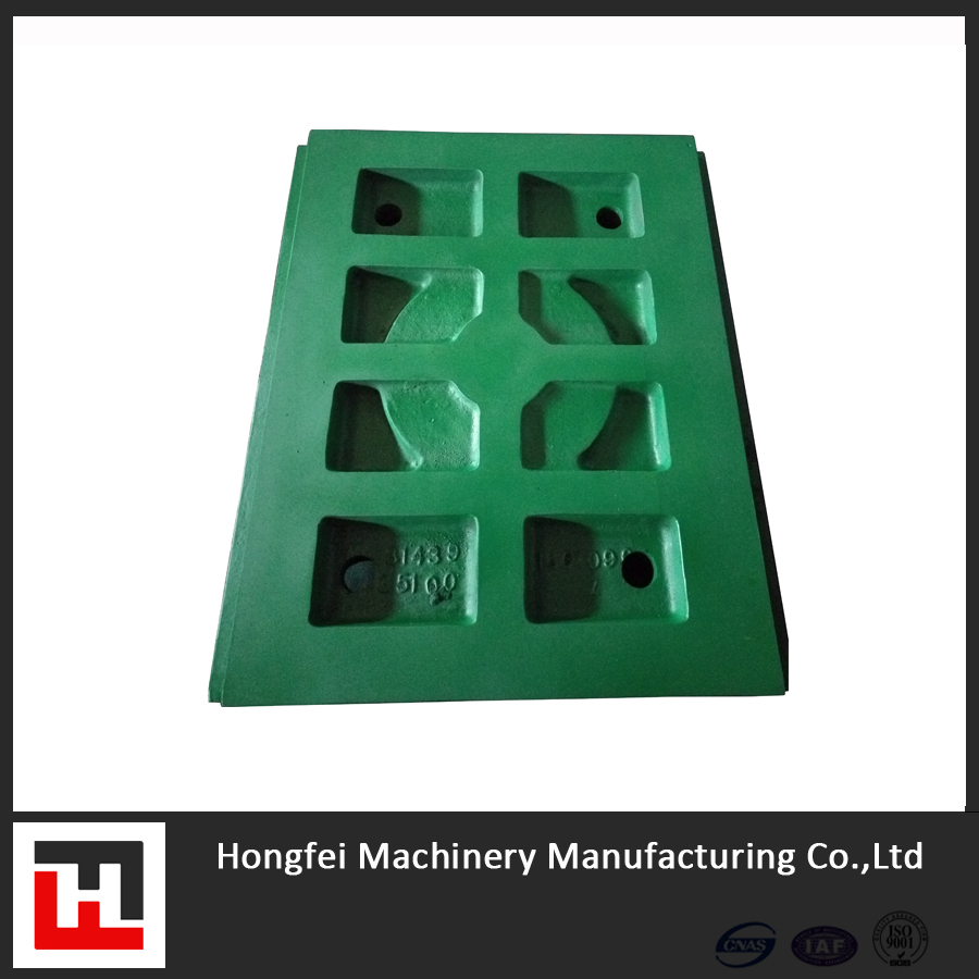 OEM QUALITY METSO C80 C110 JAW CRUSHER PLATE JAW CRUSHER TOGGLE PLATE