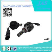 2016 latest P7 led headlight bulb HB4 HB3 H10 9005 9006 headlight
