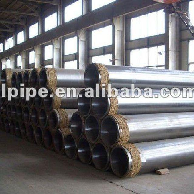 DIN St52.4 low alloy SMLS steel pipe factory