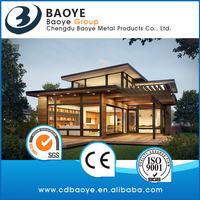 Hot sale china cheap Prefab House prefabricated glass house top quality