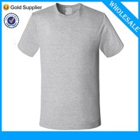 2015 Popular New Design Plain Mens Tshirts For Printing Your Own Design