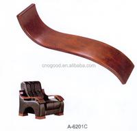 wooden armrest for office chair, wooden aremrest