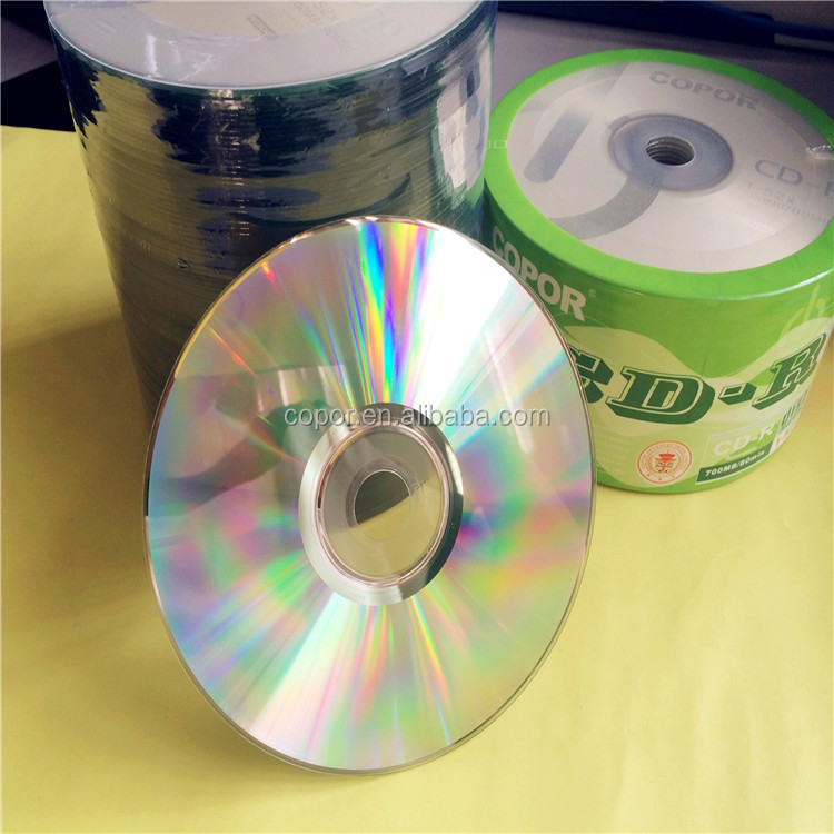 good quality cd with copor or other brand cd blank disc