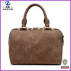 Small Style Plain Color Simple Women Nubuck Leather Tote Bag