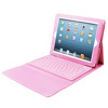 Tablet leather case with keyboard for ipad case
