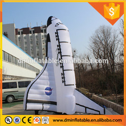 2016 Hot promotion giant inflatable space shuttle for advertising