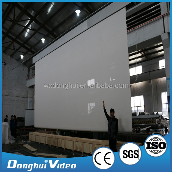electric large projection screen